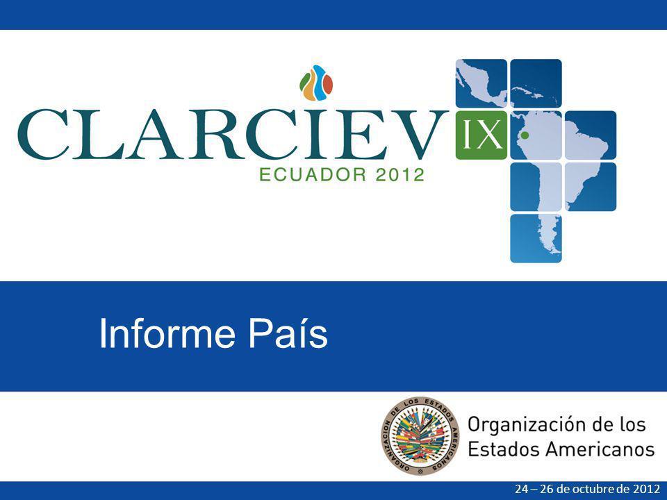 El Informe País es un documento producido por cada uno de los países CLARCIEV miembros del CLARCIEV para compartir información sobre su estructura de registro civil y los avances en materia del derecho a la identidad.