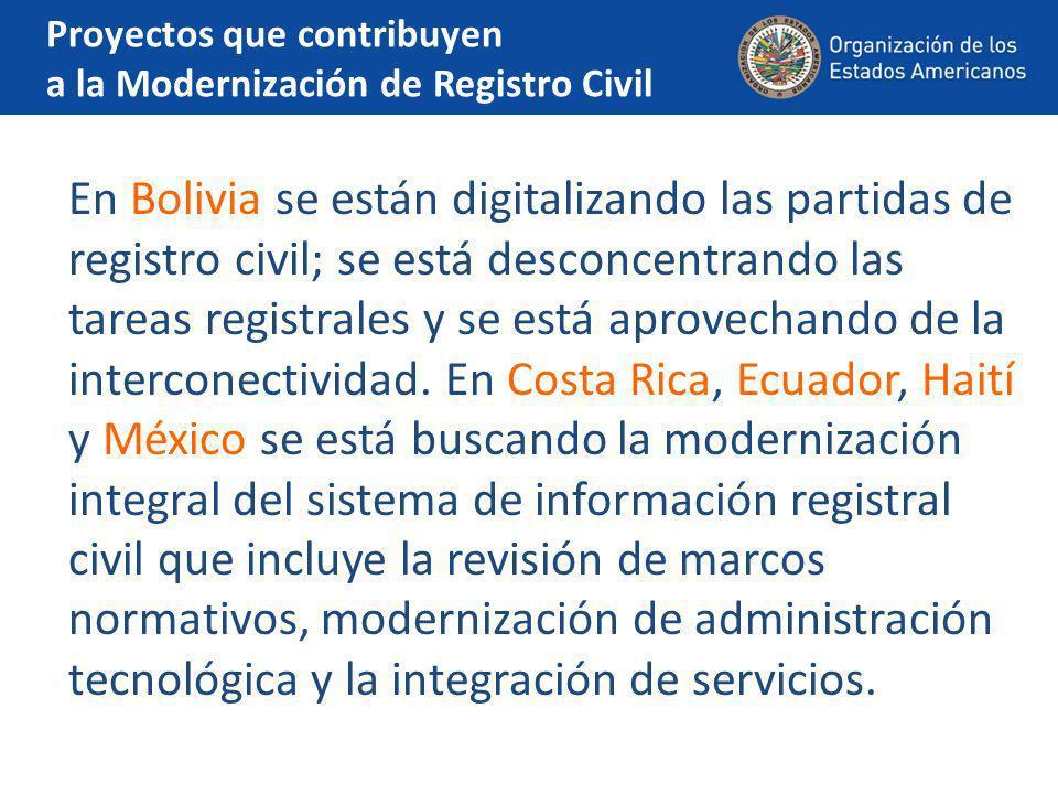 El Salvador En El Salvador se encuentran con la escasez de recursos para llevar a cabo campañas de concientización como las Ferias de Identidad.