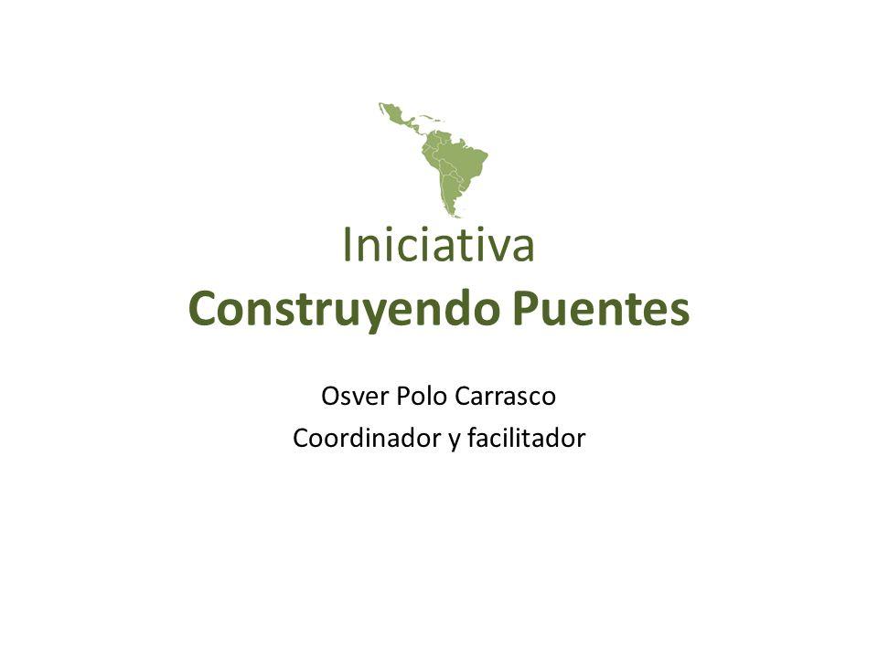 Quienes somos: Es un espacio conformado por redes, plataformas y foros que inciden desde lo nacional hacia lo internacional sobre el cambio climático Se formalizo el espacio en el 1er encuentro de Construyendo Puentes (CP), en Lima, Perú 2011 para incidir hacia la COP17 y Rio+20.
