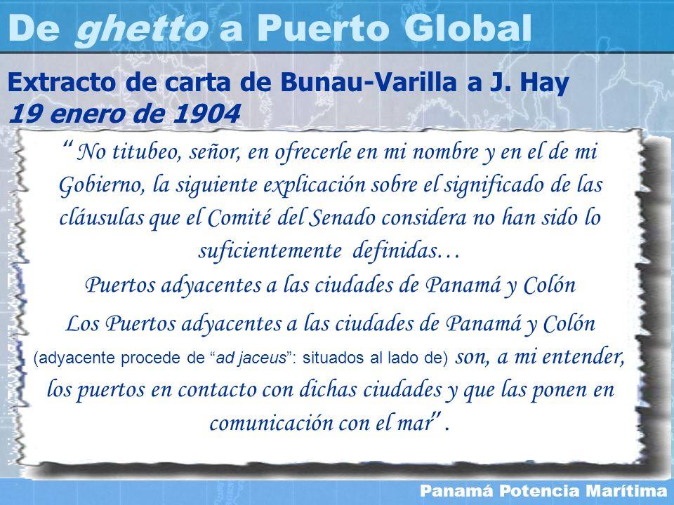 Panamá Potencia Marítima No titubeo, señor, en ofrecerle en mi nombre y en el de mi Gobierno, la siguiente explicación sobre el significado de las clá