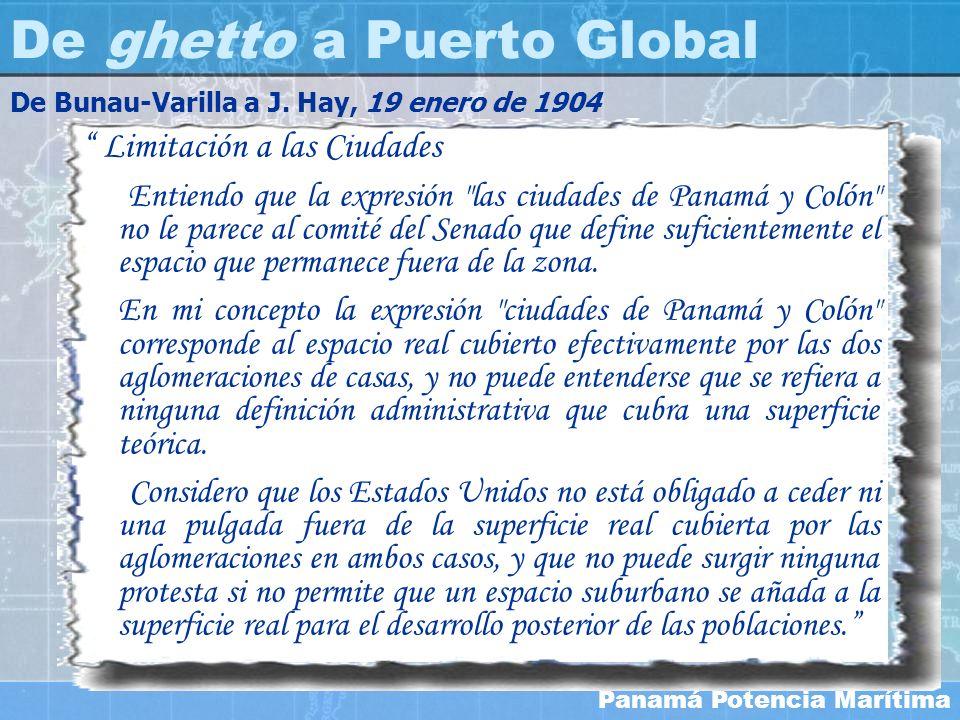 Panamá Potencia Marítima Limitación a las Ciudades Entiendo que la expresión