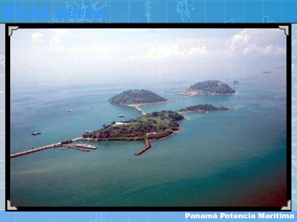 Panamá Potencia Marítima Vista aérea