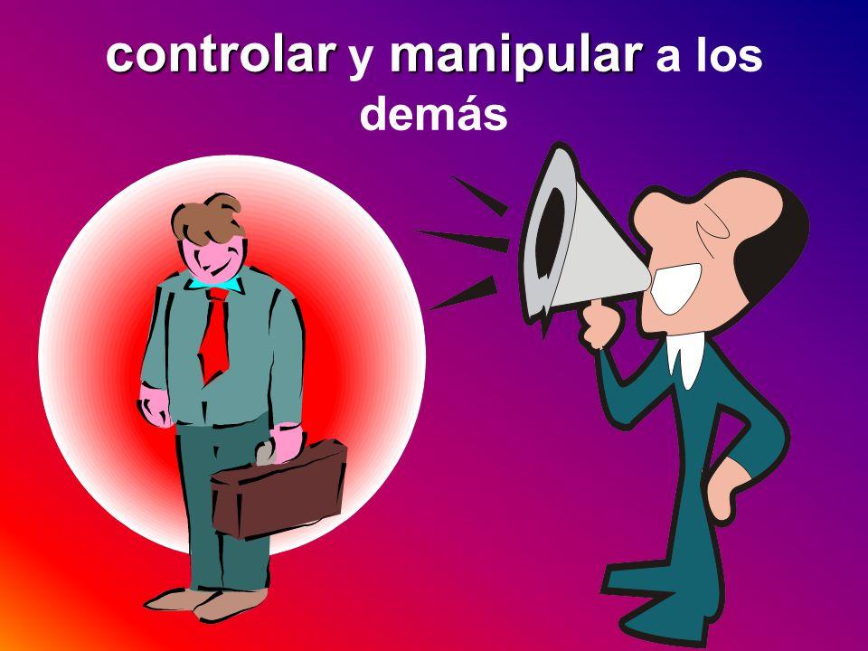 controlarmanipular controlar y manipular a los demás