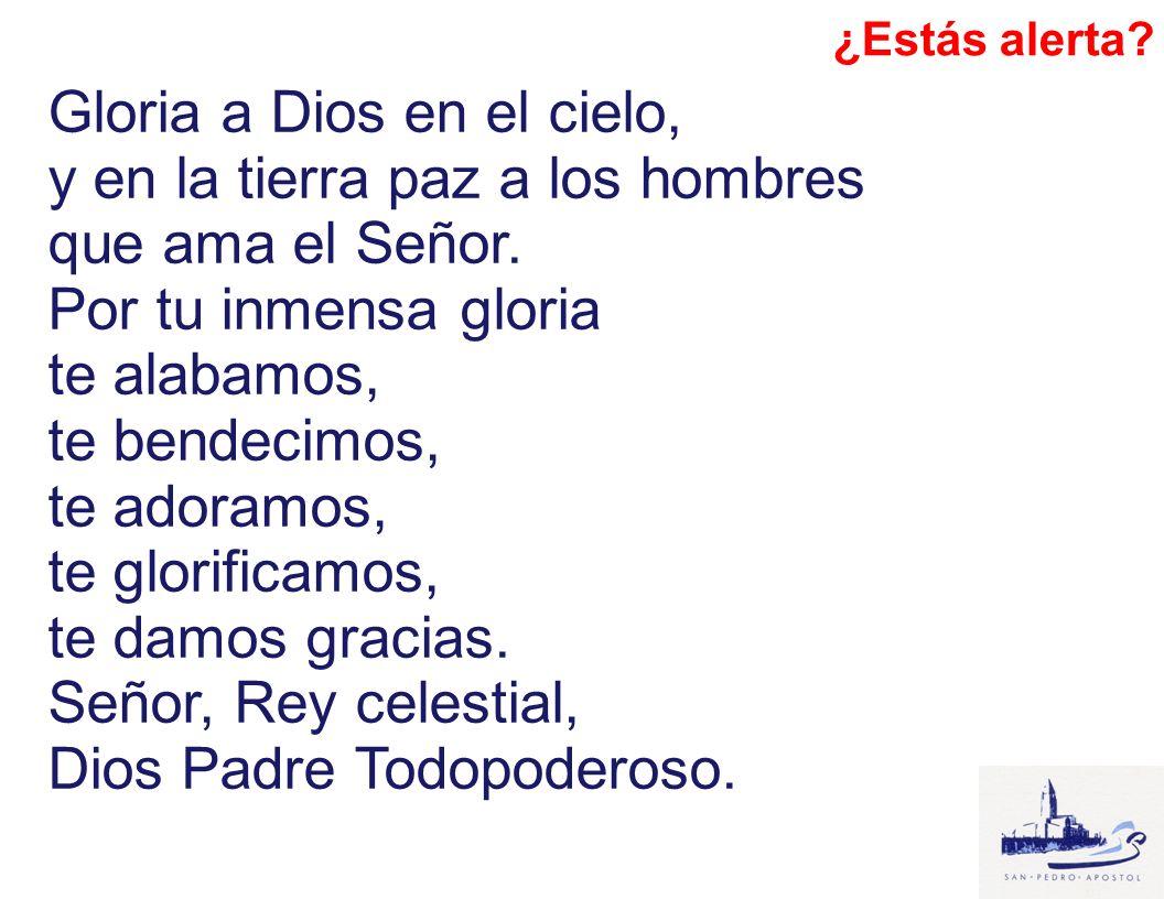 Todos: El Señor reciba de tus manos este sacrificio, para alabanza y gloria de su Nombre, para nuestro bien y el de toda su Santa Iglesia.