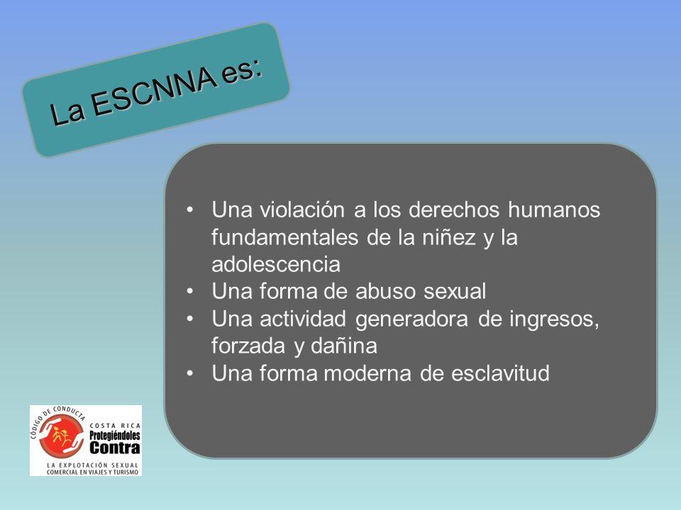 Código de conducta Forma parte del Plan Nacional contra la ESCNNA 2008 – 2011.