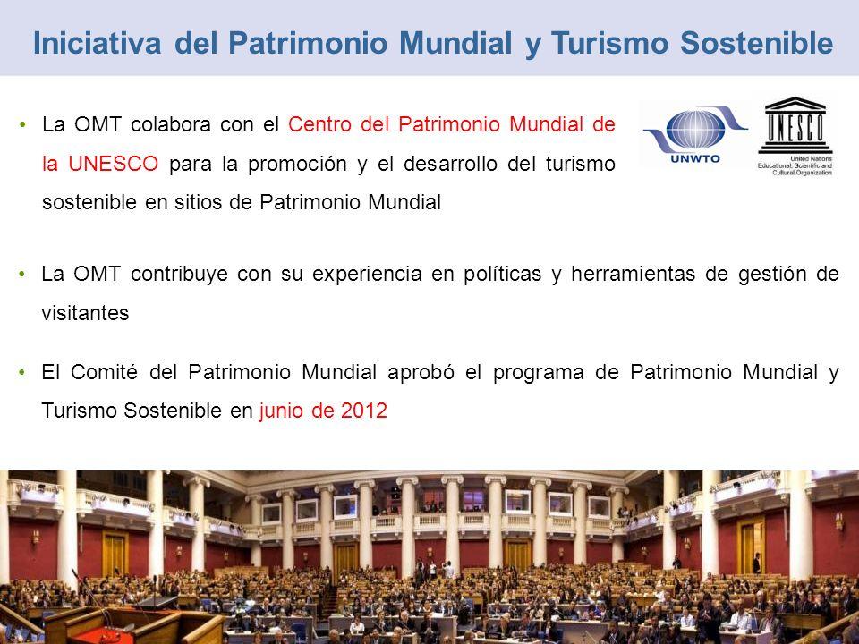 La OMT contribuye con su experiencia en políticas y herramientas de gestión de visitantes El Comité del Patrimonio Mundial aprobó el programa de Patri