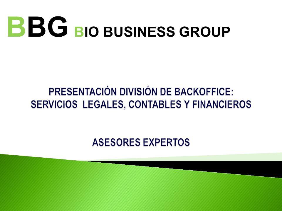Presentación: Bio Business Group (BBG) es una consultora multidisciplinaria creada el año 2007 por un grupo de profesionales, ejecutivos y directores de empresas de vasta experiencia nacional e internacional.
