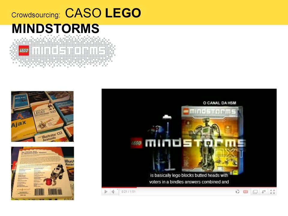 Crowdsourcing: CASO LEGO MINDSTORMS