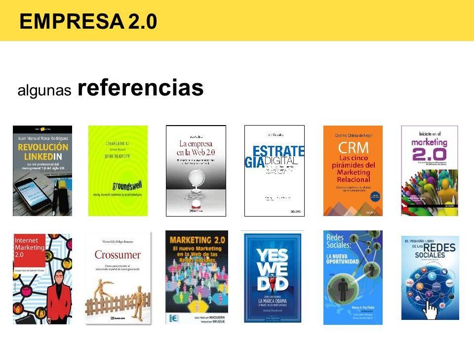 algunas referencias EMPRESA 2.0