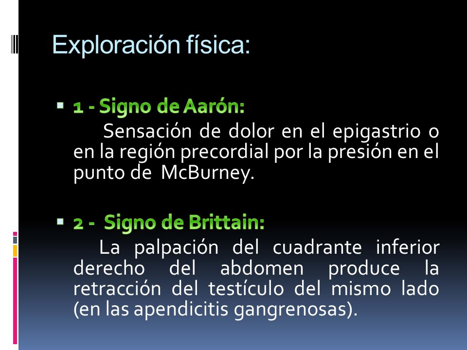 Exploración física: