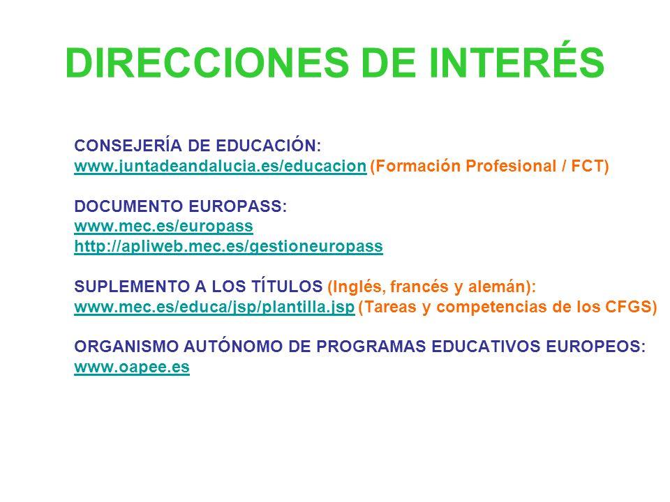 www.juntadeandalucia.es/educacion angeles.gabella.ext@juntadeandalucia.es ana.romero.hidalgo.ext@juntadeandalucia.es ¡GRACIAS POR VUESTRA ATENCIÓN!