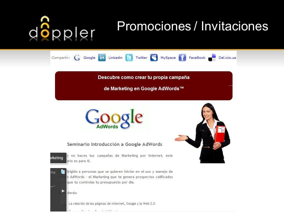 Promociones / Invitaciones