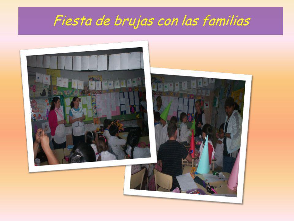 Fiesta de brujas con las familias