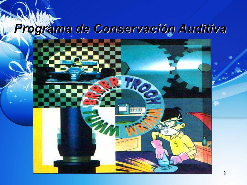2 Programa de Conservación Auditiva