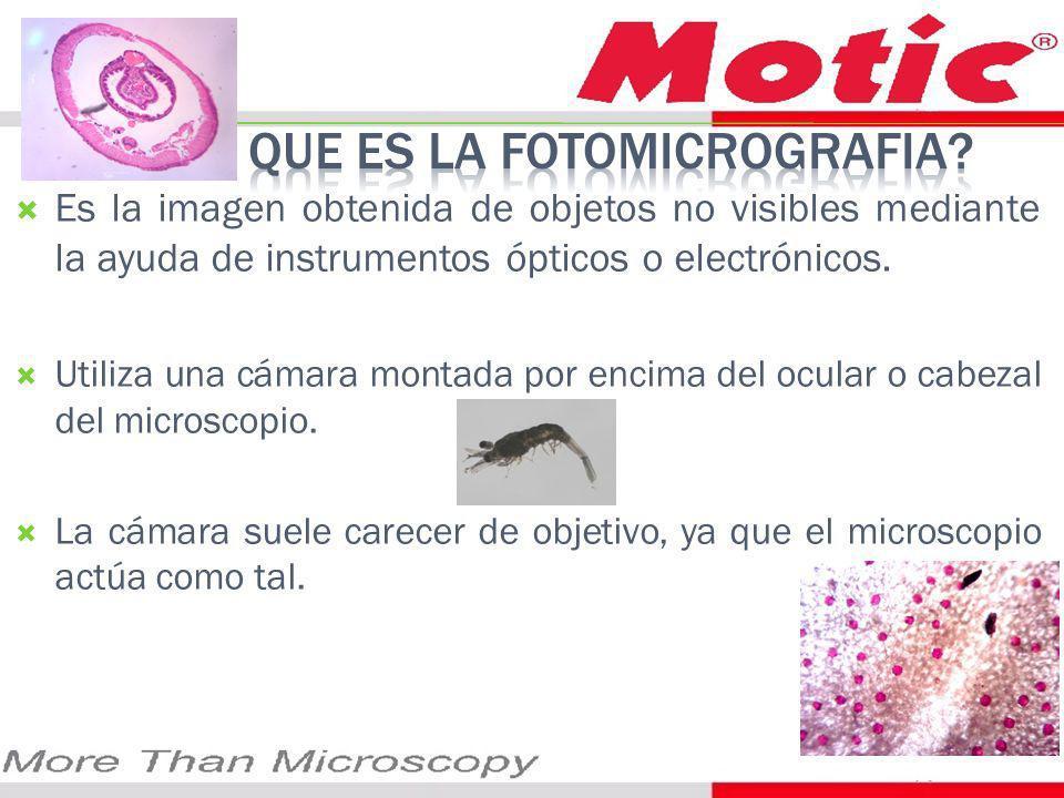 Es la imagen obtenida de objetos no visibles mediante la ayuda de instrumentos ópticos o electrónicos.
