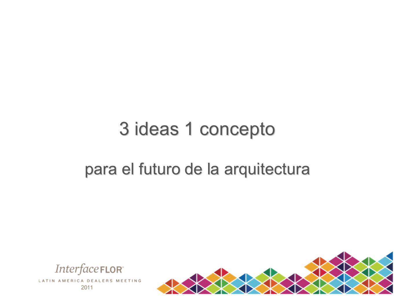 3 ideas 1 concepto para el futuro de la arquitectura