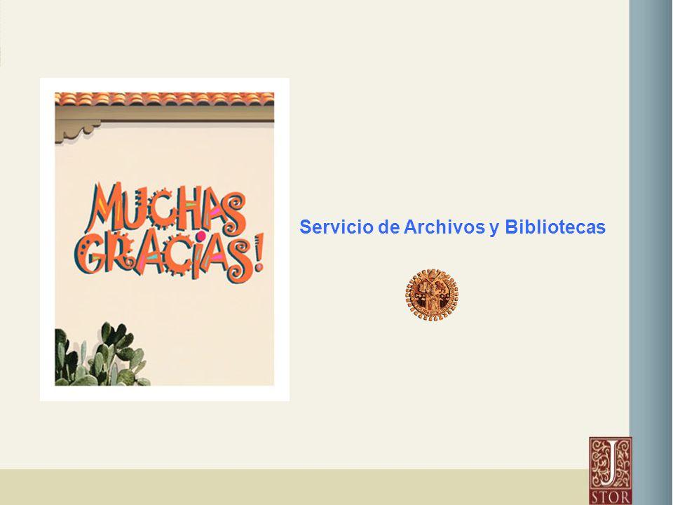 Servicio de Archivos y Bibliotecas