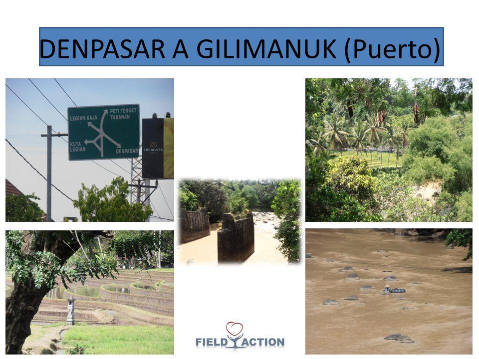 DENPASAR A GILIMANUK (Puerto)