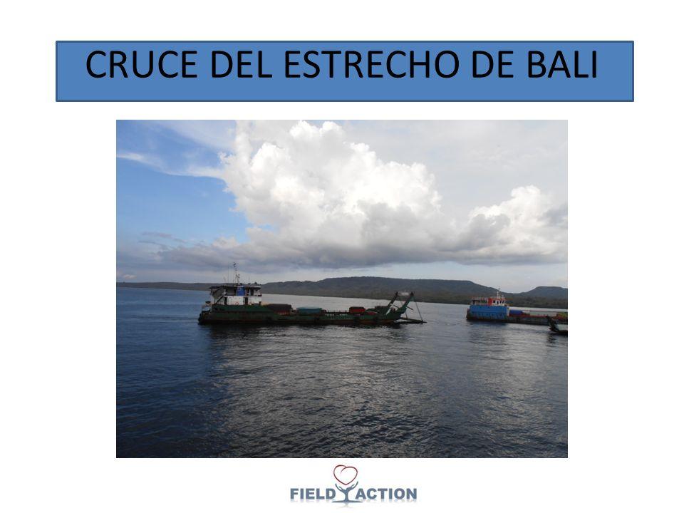CRUCE DEL ESTRECHO DE BALI