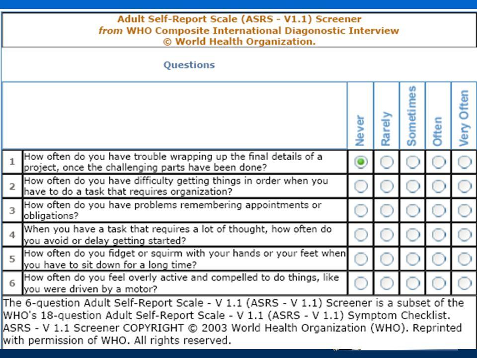 Artigas Pallarès, J Conclusiones El TDA/H es un trastorno crónico que persiste en la edad adulta.