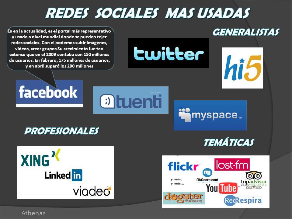 Es en la actualidad, es el portal más representativo y usado a nivel mundial donde se pueden tejer redes sociales. Con el podemos subir imágenes, vide