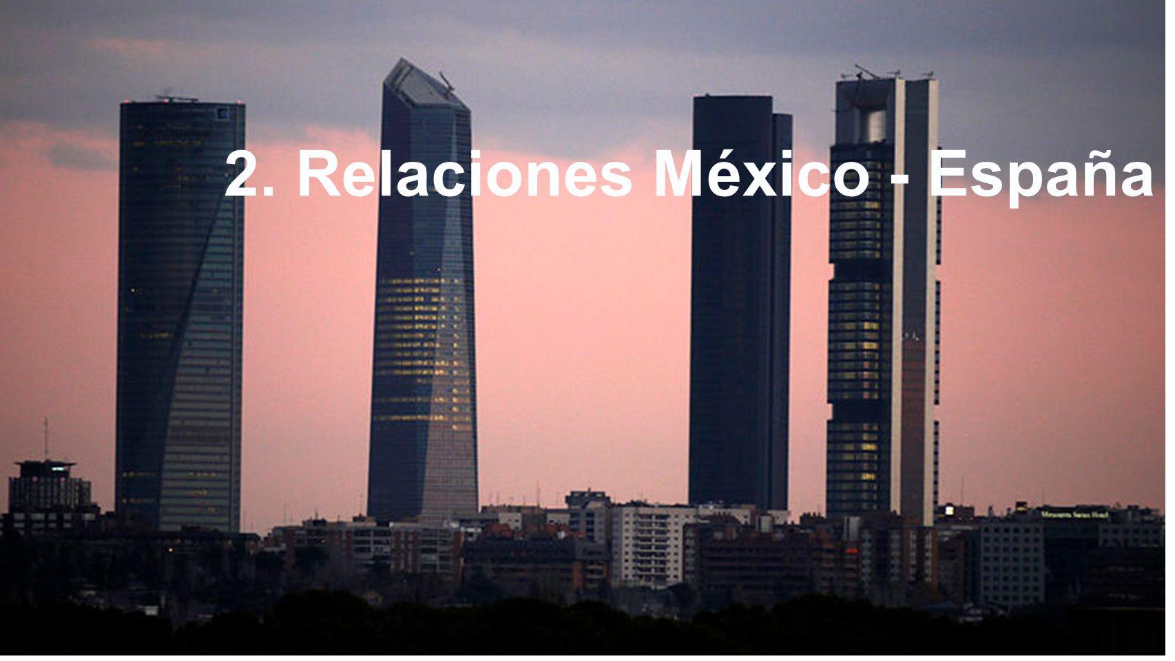 8 filosofía 2. México- España 2. Relaciones México - España