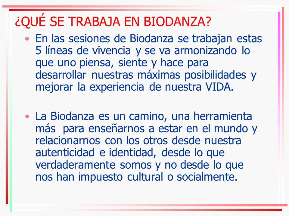 Biodanza fortalece la salud física, emocional y mental