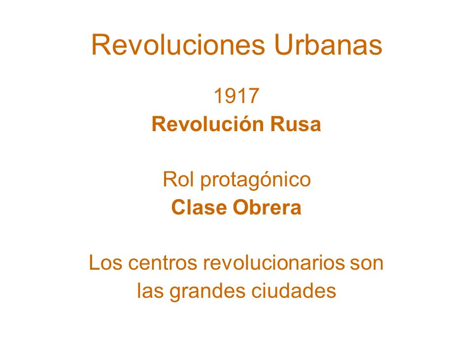 preguntas Revolución inminente generalizada.