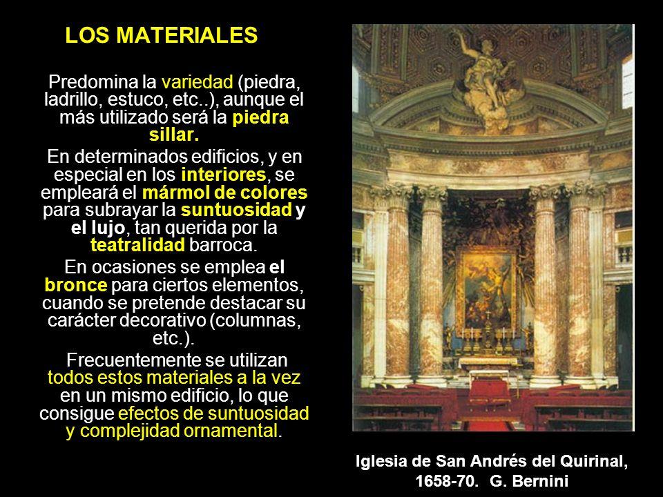 LOS MATERIALES Predomina la variedad (piedra, ladrillo, estuco, etc..), aunque el más utilizado será la piedra sillar. En determinados edificios, y en