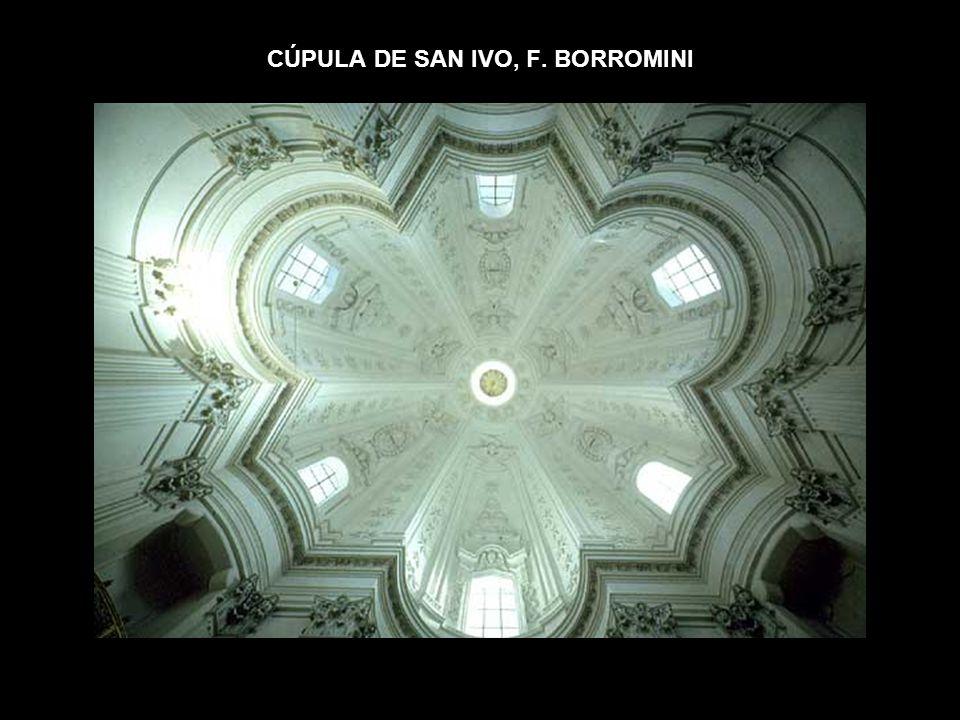 CÚPULA DE SAN IVO, F. BORROMINI