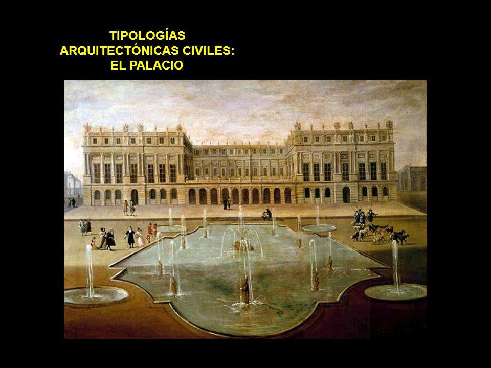 TIPOLOGÍAS ARQUITECTÓNICAS CIVILES: EL PALACIO