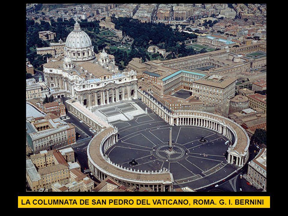 LA COLUMNATA DE SAN PEDRO DEL VATICANO, ROMA. G. l. BERNINI