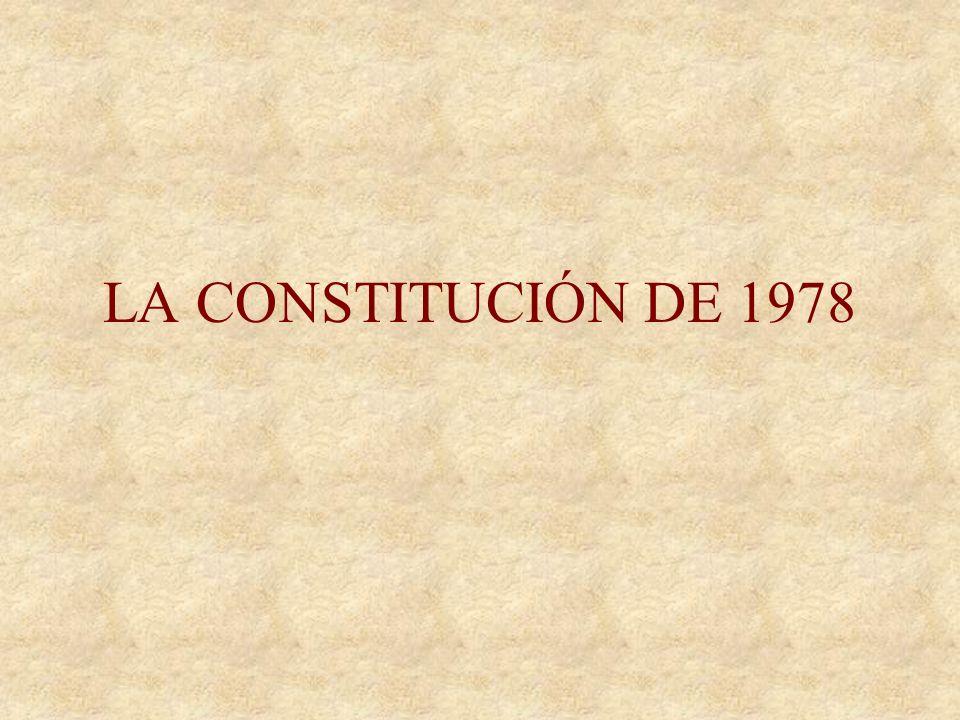 LOS PACTOS DE LA MONCLOA Octubre-77 Objetivos económicos –Intento de atacar la profunda crisis económica –Frenar la inflación –Establecer las bases de