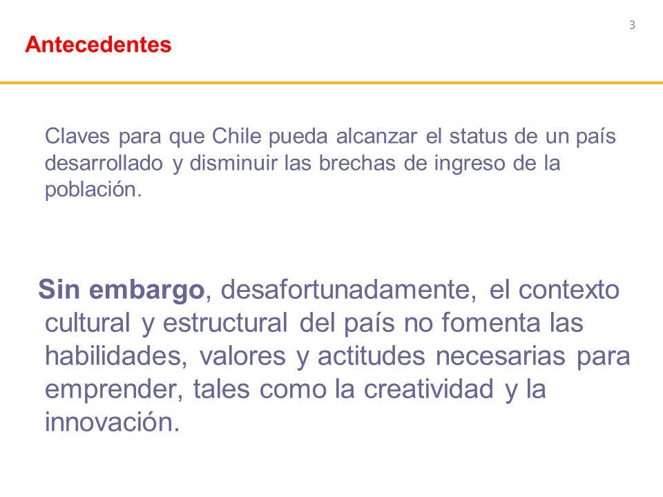 3 Claves para que Chile pueda alcanzar el status de un país desarrollado y disminuir las brechas de ingreso de la población. Sin embargo, desafortunad