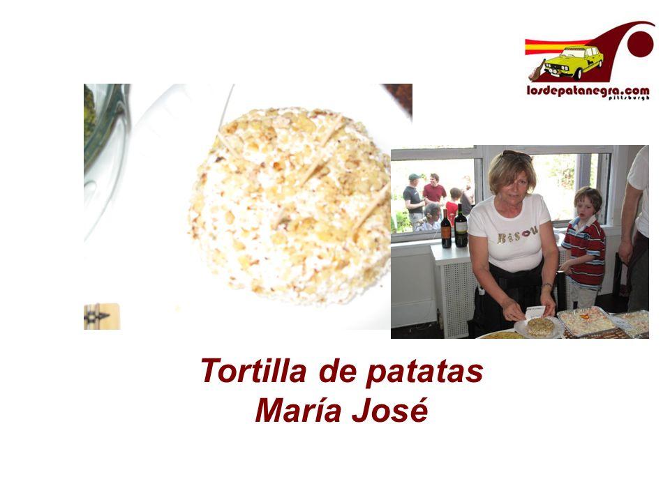 Tortilla de patatas María José