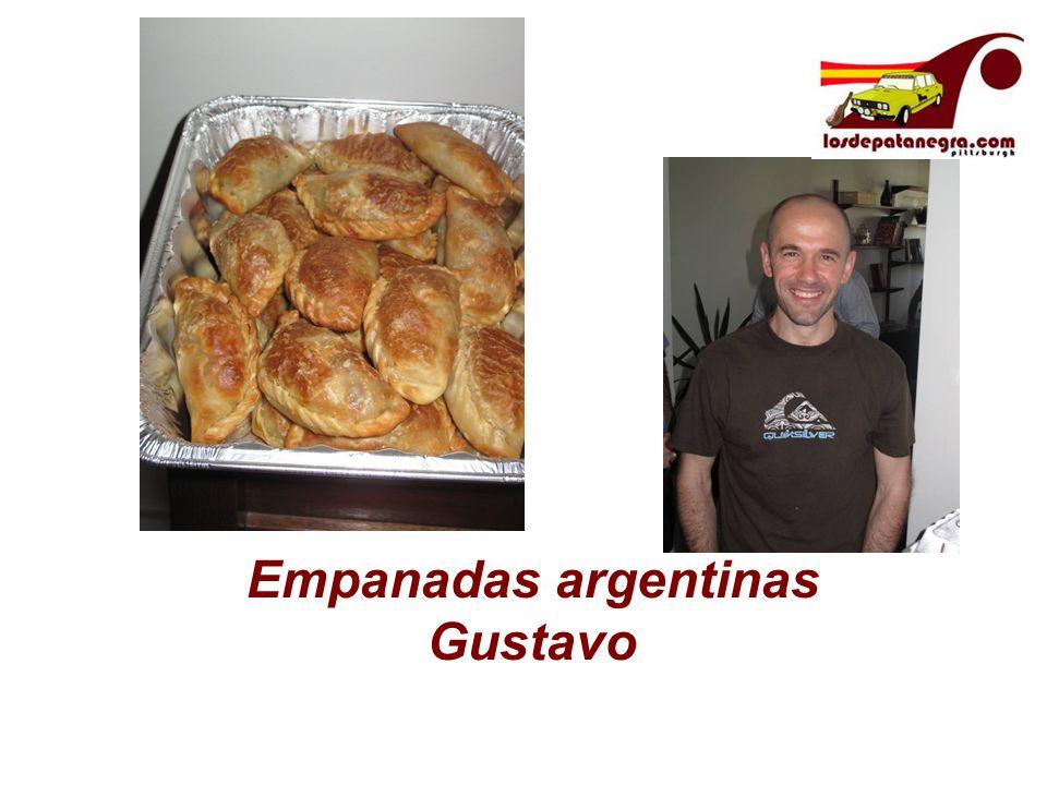 Empanadas argentinas Gustavo