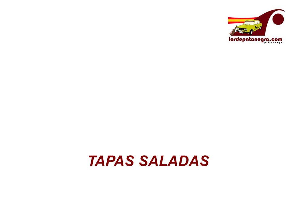 TAPAS SALADAS