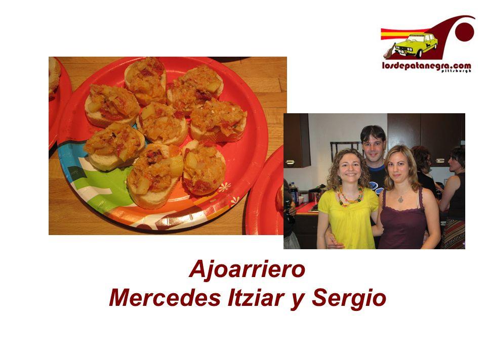 Ajoarriero Mercedes Itziar y Sergio