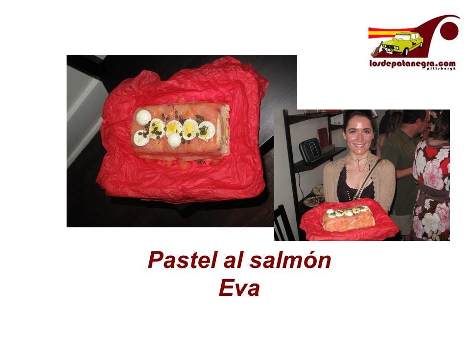Pastel al salmón Eva