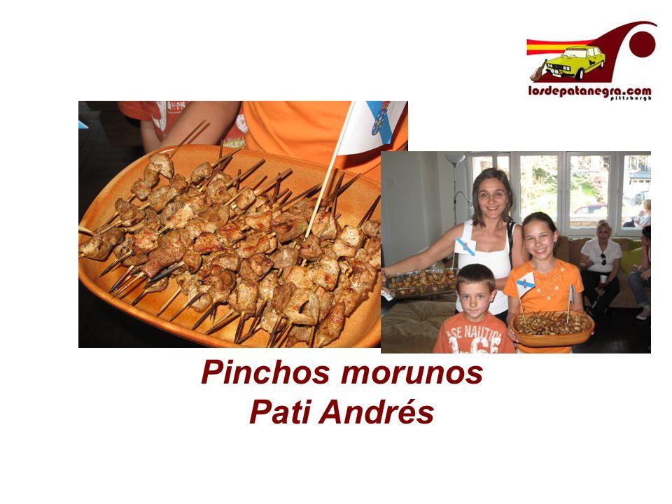 Pinchos morunos Pati Andrés