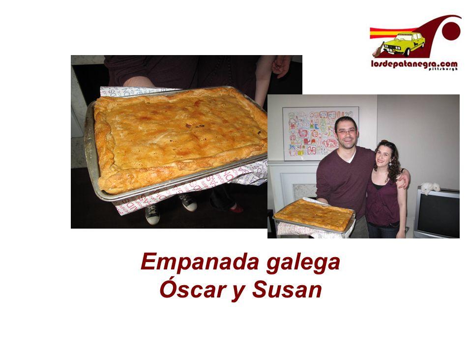 Empanada galega Óscar y Susan
