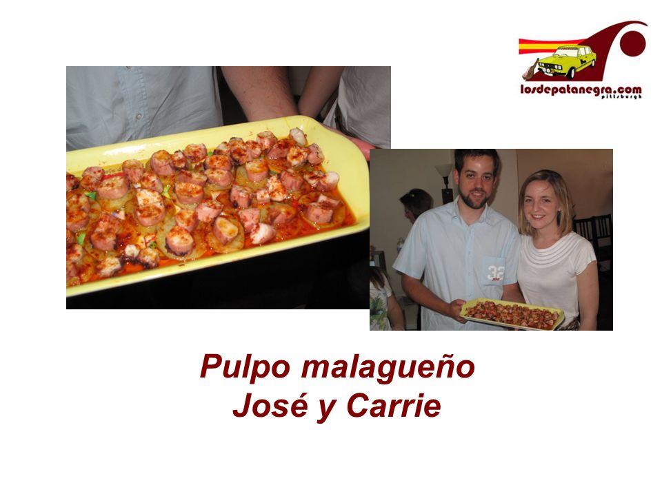 Pulpo malagueño José y Carrie