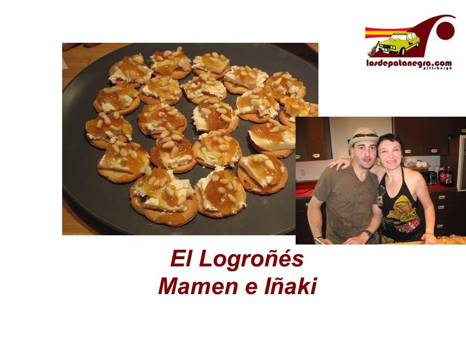 El Logroñés Mamen e Iñaki