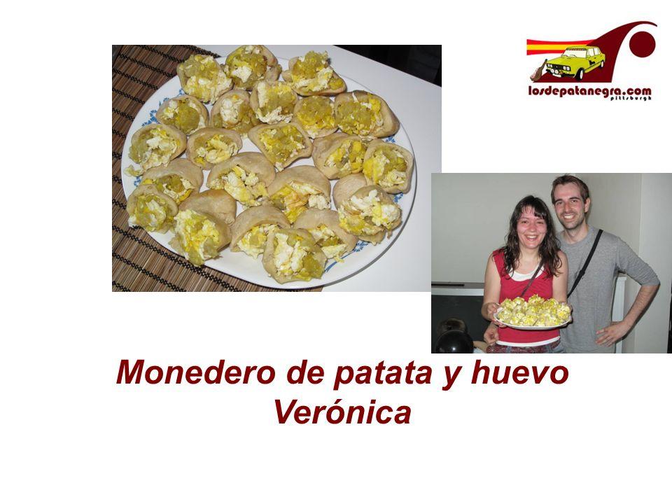 Monedero de patata y huevo Verónica