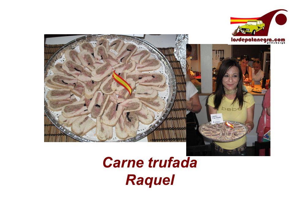 Carne trufada Raquel