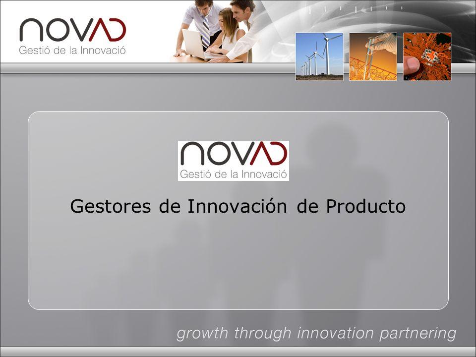 Gestores de Innovación de Producto