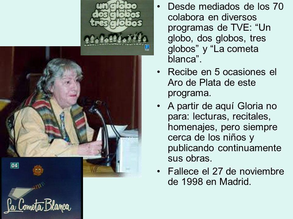 AUTOBIOGRAFÍA Gloria Fuertes nació en Madrid A los dos días de edad, Pues fue muy laborioso el parto de mi madre Que si se descuida muere por vivirme.