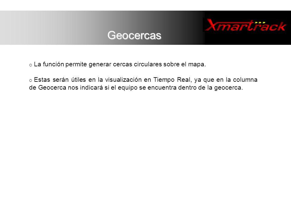 o Permite personalizar la aplicación Xmartrack a las necesidades específicas del usuario.