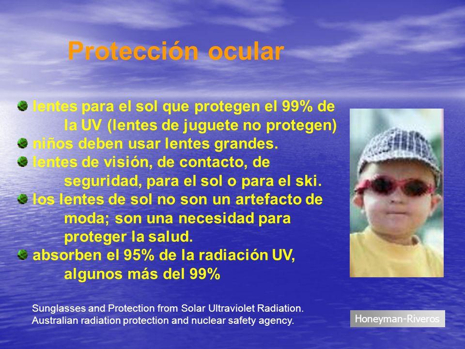 lentes para el sol que protegen el 99% de la UV (lentes de juguete no protegen) niños deben usar lentes grandes. lentes de visión, de contacto, de seg