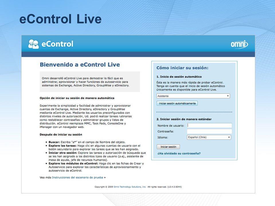 eControl Live